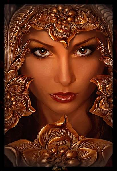 Fantasy Animated Woman Dark Animation Favim Witch