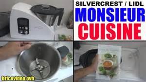 monsieur bricolage cuisine monsieur cuisine lidl recette ménager silvercrest