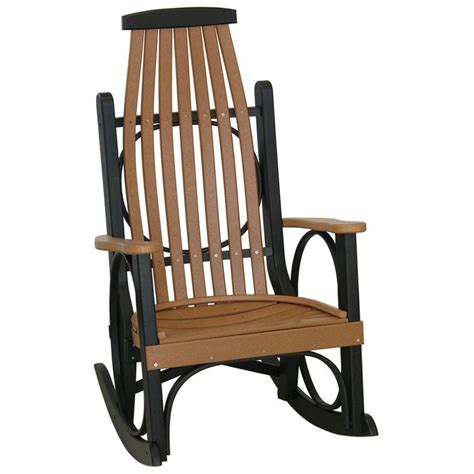 polywood s rocker from amish patio furniture