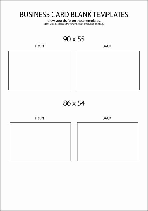 business card template for word 2013 8 blank business card template word 2013