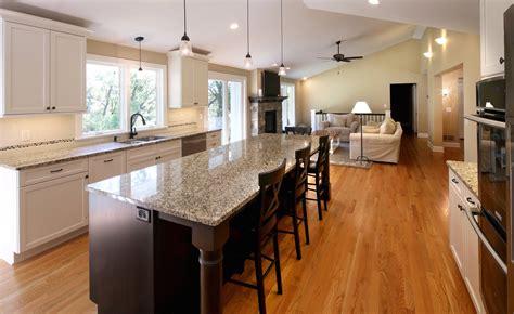 kitchen room ideas open floor plan living room and kitchen 1085