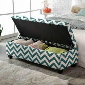 Coffre Bout De Lit Ikea : 40 id es pour le bout de lit coffre en images ~ Teatrodelosmanantiales.com Idées de Décoration
