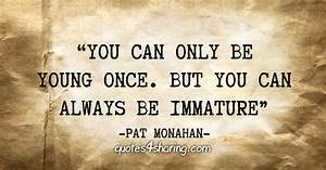 """You can o... Patrick Monahan Quotes"