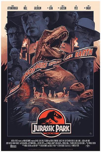 Jurassic Park Poster Alternative John