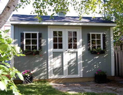 12x8 shed carriage house duroshed