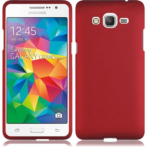 for samsung galaxy grand prime lte g530 rubberized matte snap cover ebay