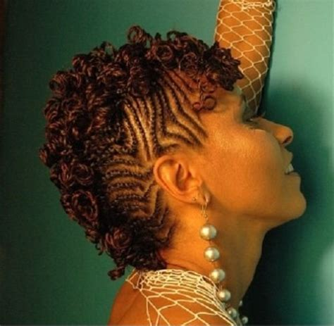 Twisted Mohawk Hairstyle by How To Create And Style Flat Braided Mohawk Hairstyles For