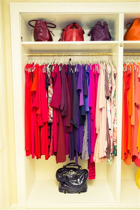 Colorful Closet by Best 25 Color Coded Closet Ideas On Color