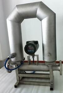 Gas/liquid Coriolis Mass Flow Meter U-shaped Sensor N2o ...