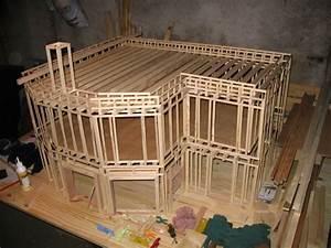 comment faire une maquette de maison en bois hu32 With construire une maquette de maison