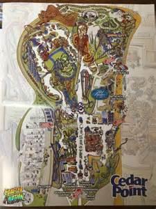 2017 Cedar Point Map