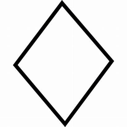 Diamond Shape Symbol Icon Interface Ios Vector