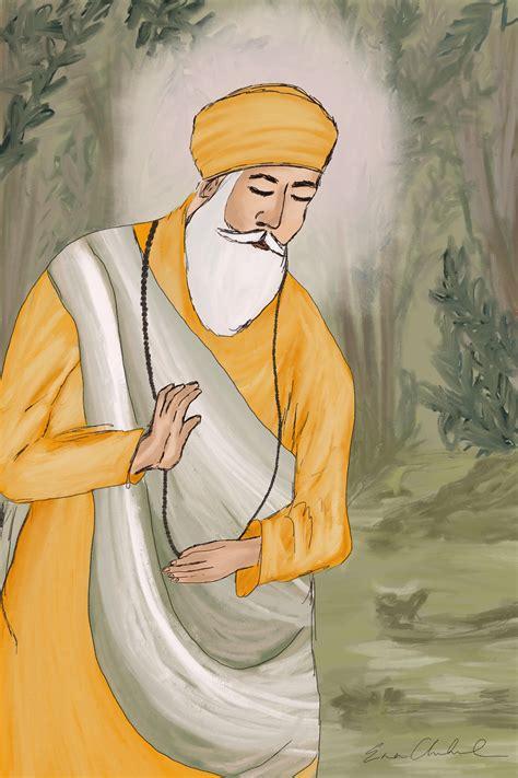 In celebration of Guru Nanak Jayanti - I created this. : Sikh