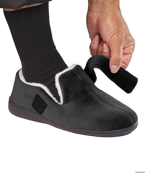 Mens House Slippers Memory Foam Slippers For Men Mens