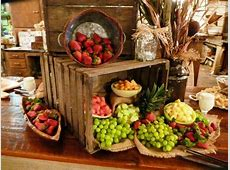 Fruit display Rehearsal Reception Ideas Pinterest