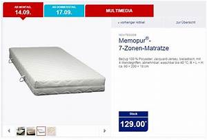 Novitesse Matratze Test : memopur matratze aldi nord 2015 die m bel f r die k che ~ Orissabook.com Haus und Dekorationen