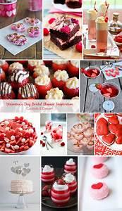 valentine39s day bridal shower inspiration With valentine wedding shower ideas