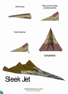 Origami Jet Instructions