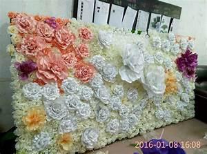Mur De Fleurs : d coration de mur de fleurs artificielles de mariage photo sur fr made in ~ Farleysfitness.com Idées de Décoration