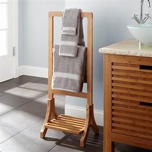 porte serviette pour meuble salle de bain ciabizcom With porte serviette meuble salle de bain