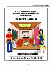 Lm household services g10