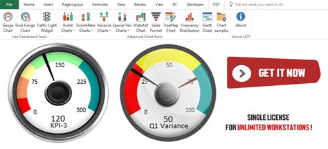 create gauge chart  excel  templates