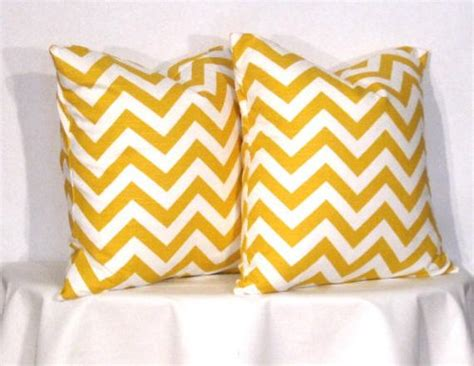 24 inch square pillow covers 24 inch pillow covers yellow and white chevron zig zag
