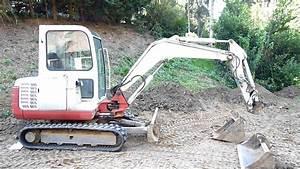 Mini Pelle Mecanique : takeuchi mini pelle mini excavator 3 5 tonnes ann e 2001 youtube ~ Medecine-chirurgie-esthetiques.com Avis de Voitures