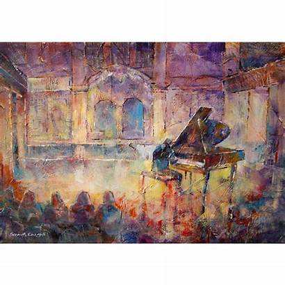 Classical Piano Concert Painting Recital Artists Surrey