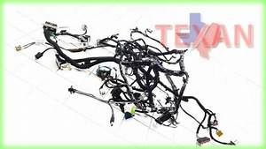 15 2015 Ford Focus Se Wire Wiring Harness Instrument Panel