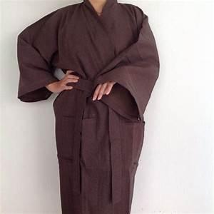 kimono robe womens mens robe cotton kimono style long bath With robe style