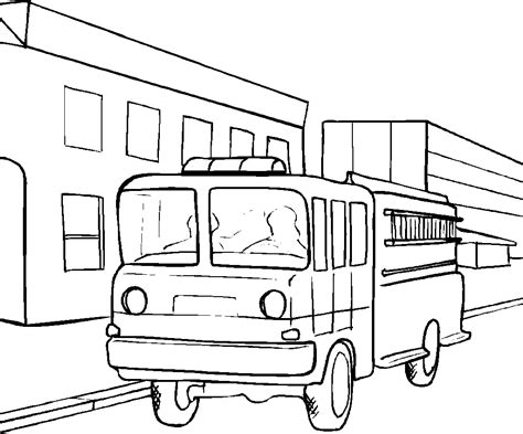 truck coloring pages coloring pages  print