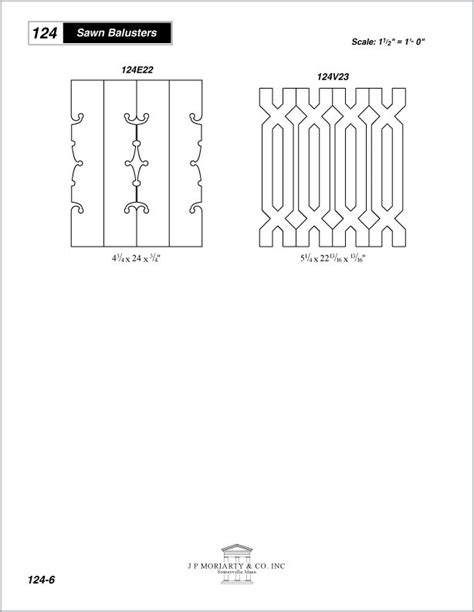 deck baluster spacing template 17 best images about sawn baluster designs on