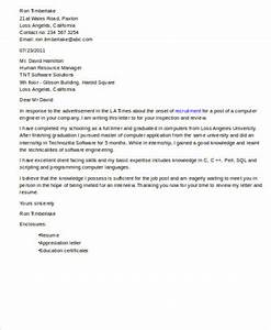 8 sample software engineer cover letters sample templates With cover letter for software developer fresher