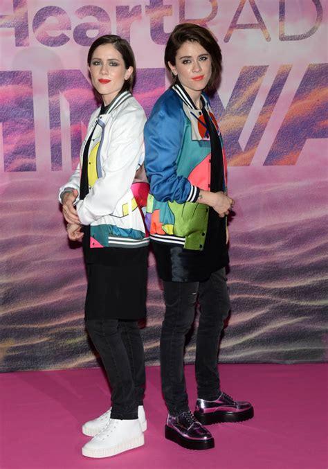 Tegan & Sara's Mmva Jacket Gamelainey Gossip Lifestyle