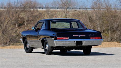 1966 Chevrolet Biscayne L72 Sedan  Lot F236  Indy 2014