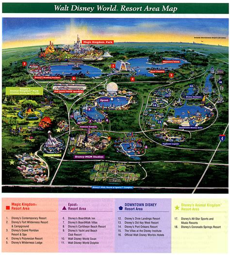 walt disney world resort map compare hotel discounts