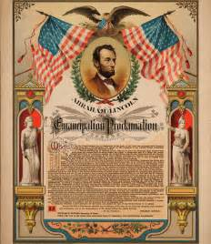 lincoln issues the emancipation proclamation civil war daily gazette