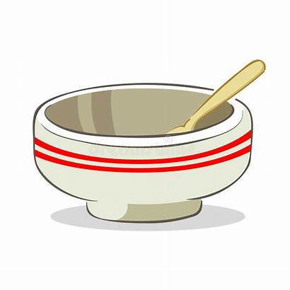 Spoon Bowl Vector Empty Illustration Clipart Graphic
