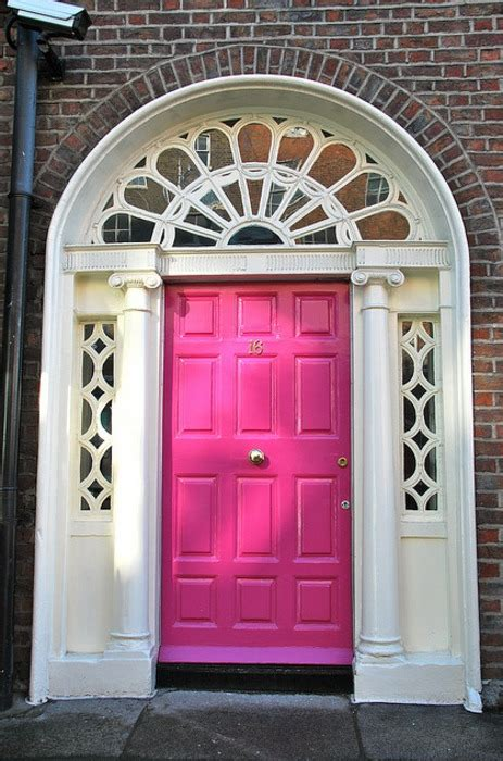 pink front door designs  inspire shelterness