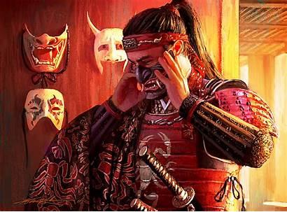 Bayushi L5r Fantasy Samurai Komarck Rings Legend