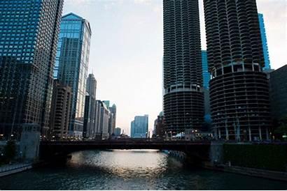 Chicago Gifs Landscape River College Cubs America