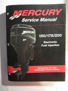 Sell 2002  Mercury Outboard Service Repair Shop Manual 150