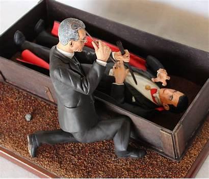 Coffin Dracula Draculas Universal Thedoctorsmodelmansion Doctor