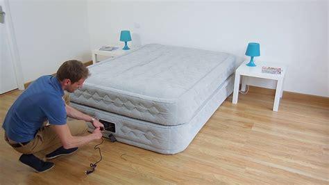 materasso matrimoniale gonfiabile elettrico materasso gonfiabile elettrico 2 piazze intex supreme bed