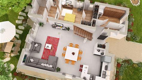 plan de maison gratuit 3 chambres logiciel architecture maison 3d gratuit maison moderne
