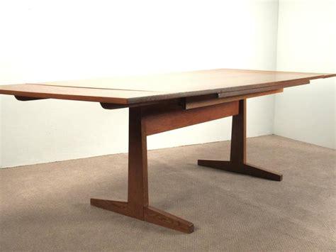 danish modern teak extension dining table sale