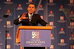 English: Barack Obama Speaks to College Democrats