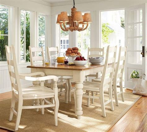 pottery barn kitchen table tables chairs sumner pottery barn extending kitchen