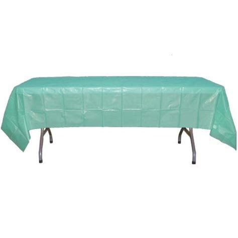 Exquisite 12 Pack Premium Plastic 84 Inch Round Tablecloth